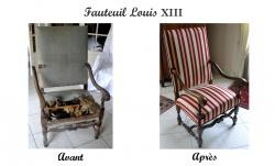 Fauteuil Louis Xiii