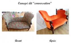 Canapé Conversation